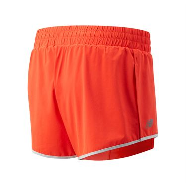 New Balance Rally Short Womens Neo Flame WS01446 NEF