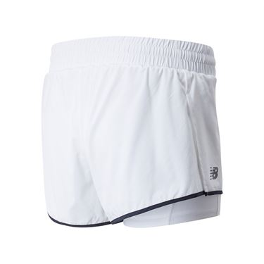 New Balance Rally Short Womens White WS01446 WT