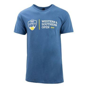 Western & Southern Open Logo Short Sleeve Tee - Light Steel