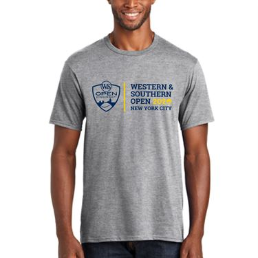 Western & Southern Open Logo Short Sleeve Tee - Grey