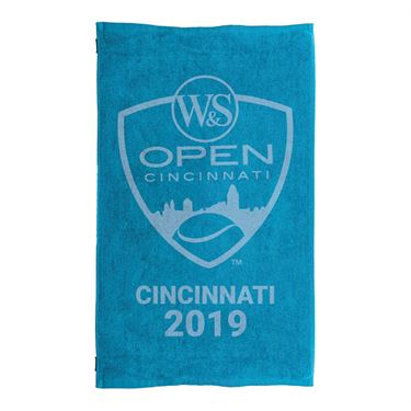 Western & Southern Open 2019 Logo Small Towel - Blue