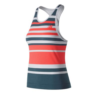 New Balance Tournament Seamless Tank - Petrol/Dragonfly
