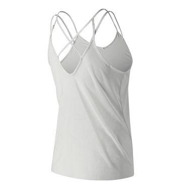 New Balance Impact Woven Tank - White