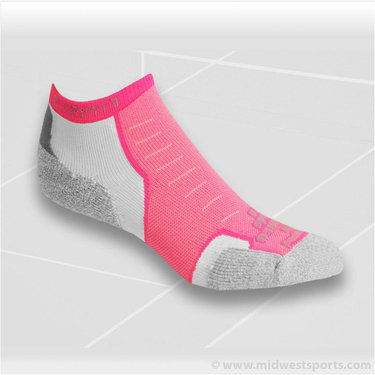 Thorlo Experia XCCU9-199 Micro Mini Crew Sock Electric Pink
