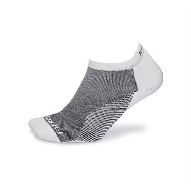 Thorlo Experia Fierce No Show Socks - White/Black