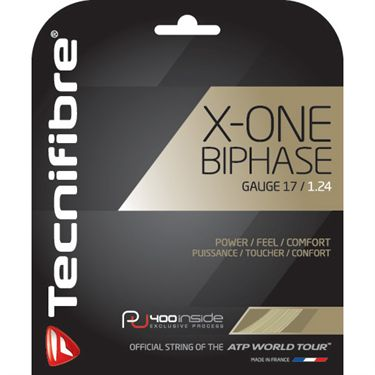 Tecnifibre X-One Biphase 17G Tennis String