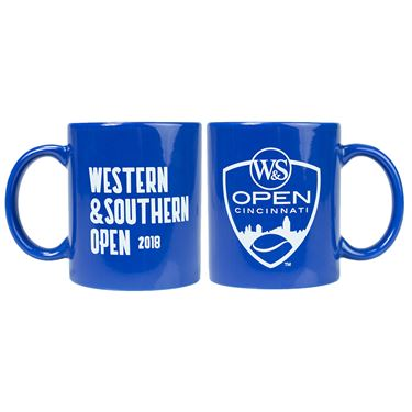 Western and Southern Open Coffee Mug - Blue