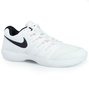 Nike Air Zoom Prestige Mens Tennis Shoe -White/Black