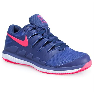 Nike Air Zoom Vapor X Womens Tennis Shoe - Blue/Pink/White