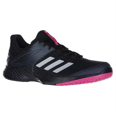 adidas Adizero Club 2 Mens Tennis Shoe - Ink/White/Pink