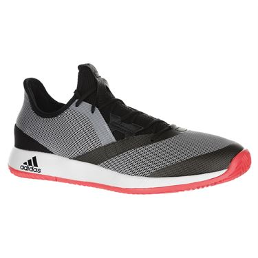 adidas Adizero Defiant Bounce Mens Tennis Shoe - Black/White/Red