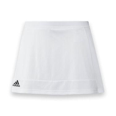 adidas T16 Skirt - White/Black
