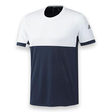 adidas T16 CC Crew - Collegiate Navy/White