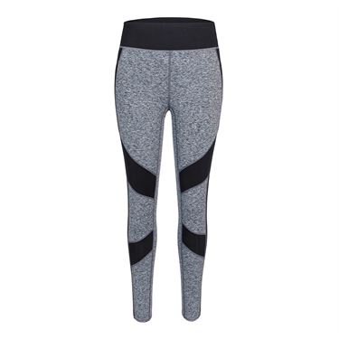 Tail Core Side Stripe Legging - Light Grey Space Dye