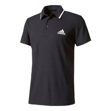 adidas advantage Polo - Black/White