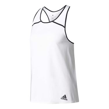 adidas Club Tank - White/Black