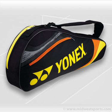 Yonex Tournament Basic Black Triple Tennis Bag