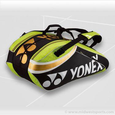 Yonex Pro Series Lime 9 Pack Tennis Bag