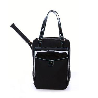 Cortiglia Brisbane Black Tennis Bag