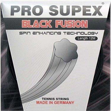 Pro Supex Black Fusion 16G Tennis String