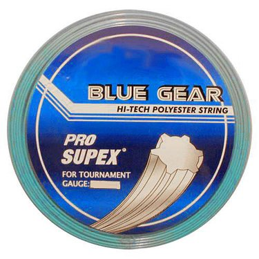 Pro Supex Blue Gear 17 Tennis String