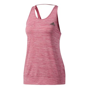 adidas Performer Banded Tank - Ruby