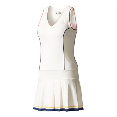adidas NY Solid Dress - White