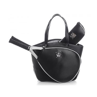 Court Couture Cassanova Epi Tennis Bag - Black