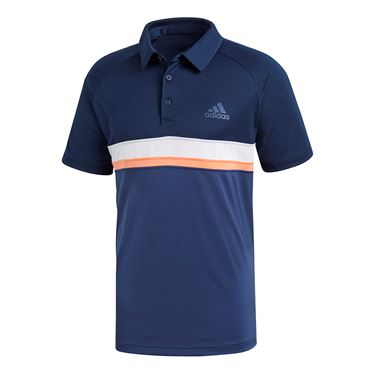 adidas Club Color Block Polo - Collegiate Navy