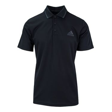 adidas Club Textured Polo - Black