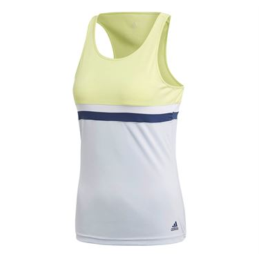 adidas Club Tank - Semi Frozen Yellow
