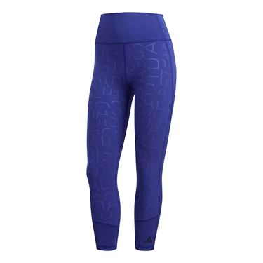 adidas 3/4 Training Tight - Real Purple