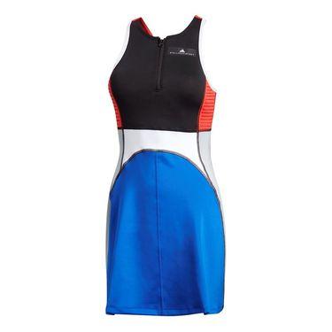 adidas Stella McCartney Barricade Dress - Black/Bold Blue