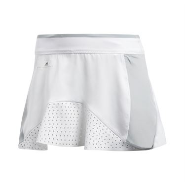 adidas Stella McCartney Barricade Skirt - White/Aero Lime