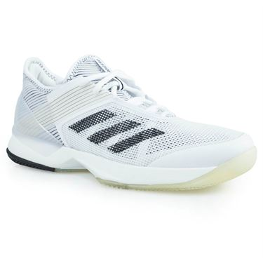 adidas adizero Ubersonic 3 Womens Tennis Shoe - White/Core Black/White