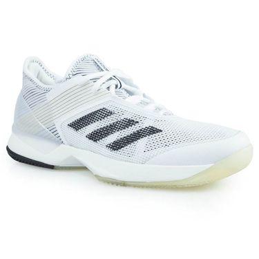 adidas adizero Ubersonic 3 Womens Tennis Shoe - White/Core Black/White