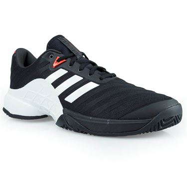 adidas barricade 2018 Mens Tennis Shoe - Core Black/White/Scarlet