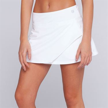 Eleven 14 Inch Fly Skirt - White