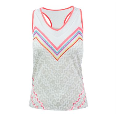 Lucky in Love High Frequency Active Fit Vigorous Tank - Lava
