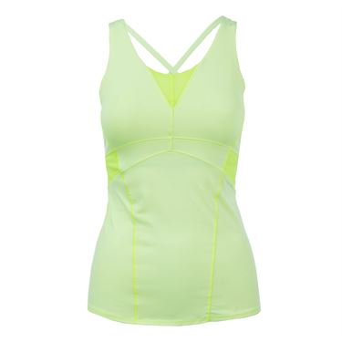 Lucky in Love Haviana Active Fit Shock Cami - Lemon Frost