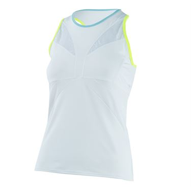 Lucky in Love Las Palmas Active Fit Stamina Tank - White