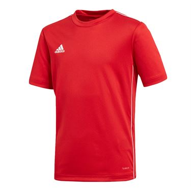 adidas Junior Training Crew - Power Red/White