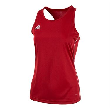 adidas Core Training Tank - Power Red/White