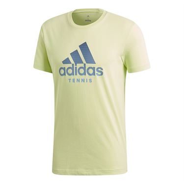 adidas Tennis Tee - Semi Frozen Yellow