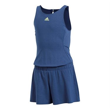 adidas Girls Melbourne Jumpsuit - Noble Indigo