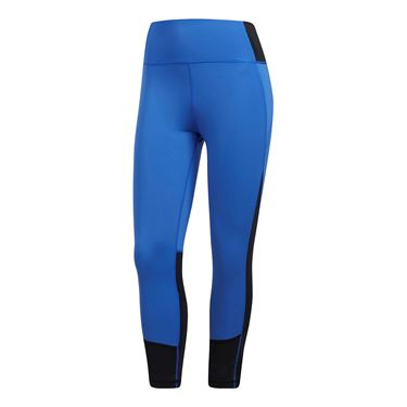 adidas Believe This High Rise 34T Cropped Pant - Blue
