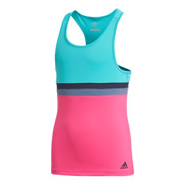 adidas Girls Club Tank - Hi Res Aqua