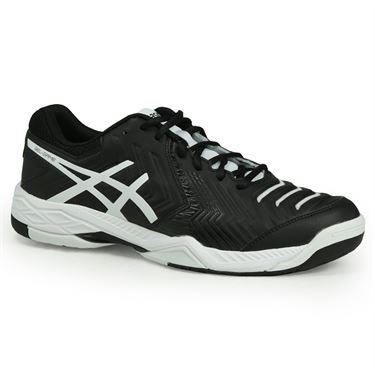 Asics Gel Game 6 Mens Tennis Shoe - Black/White