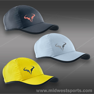 Nike Rafa Bull Logo Feather Light Cap