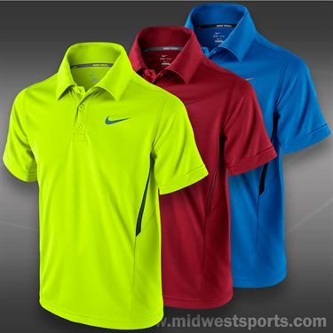 Nike Boys NET UV Polo